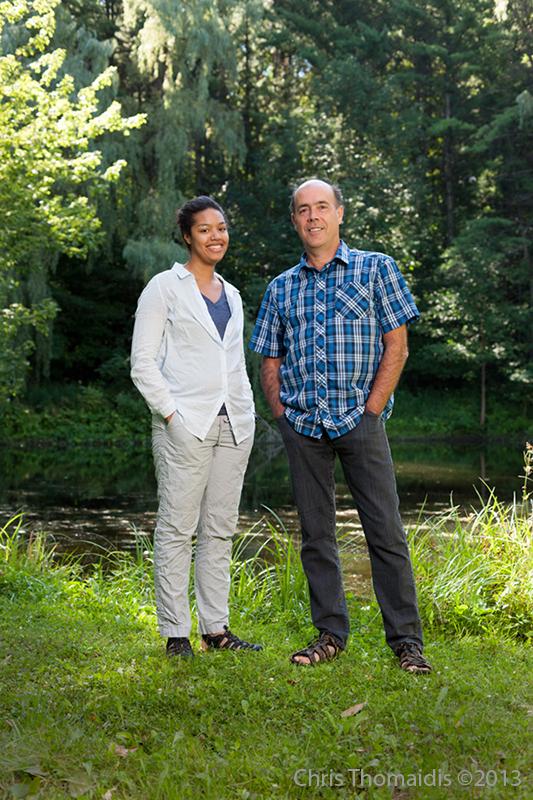 Celina Baines and Locke Rowe